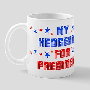 Hedgehog PRESIDENT Mug