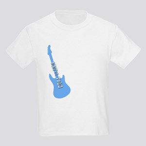 Let's rock blue guitar Kids Light T-Shirt