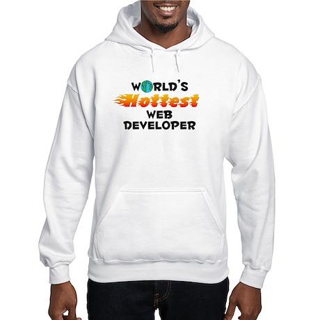 World's Hottest Web d.. (C) Hooded Sweatshirt