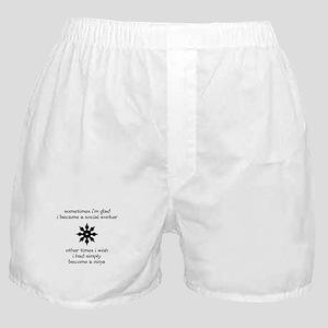 Ninja Social Work Boxer Shorts