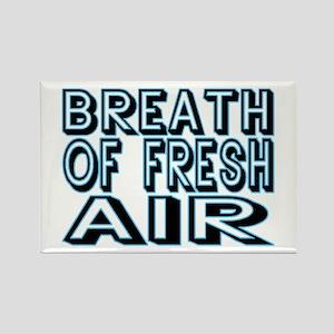 Fresh Air Rectangle Magnet