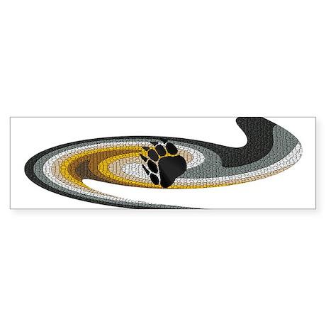 BEAR PRIDE SWIRL/MOSAIC--- Bumper Sticker