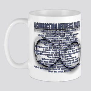 CORRECTION'S OFFICER PRAYER Mug