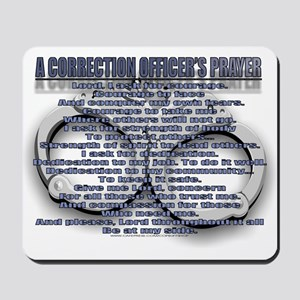 CORRECTION'S OFFICER PRAYER Mousepad