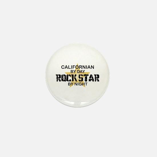Californian Rock Star Mini Button
