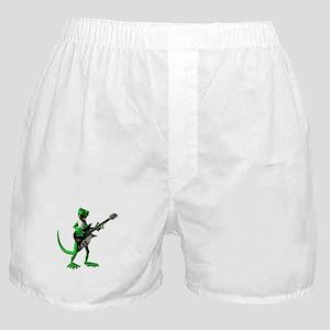 Electric Guitar Gecko Boxer Shorts