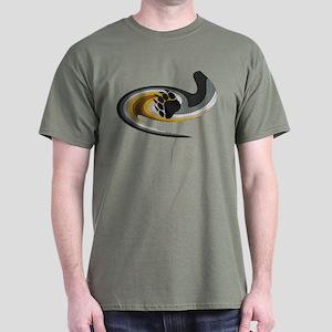 BEAR PRIDE SWIRL/MOSAIC--- Dark T-Shirt