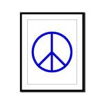 Peace Framed Panel Print
