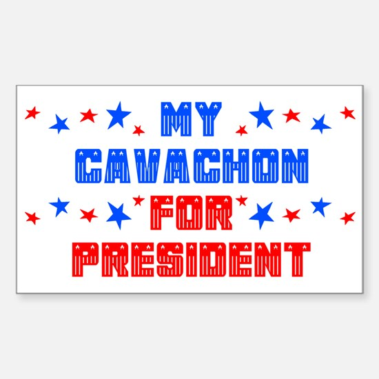 Cavachon PRESIDENT Rectangle Decal