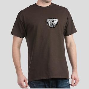 Pineal Pug Dark T-Shirt