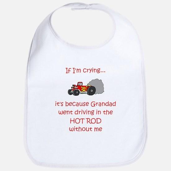 Hot Rod Cry - Grandad Bib