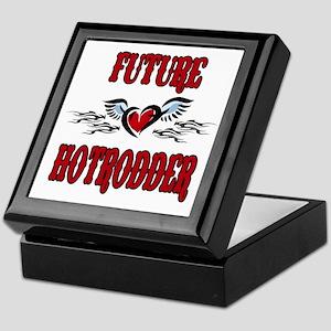 Future Hotrodder Red Keepsake Box
