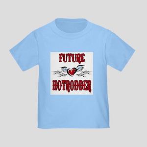 Future Hotrodder Red Toddler T-Shirt
