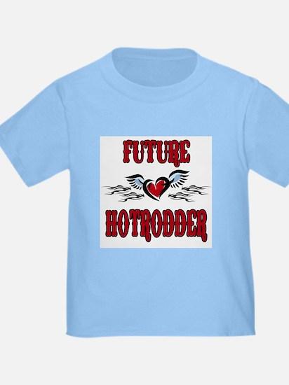 Future Hotrodder Red T