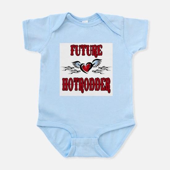 Future Hotrodder Red Infant Bodysuit