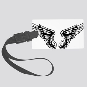 wings Large Luggage Tag