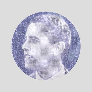 """Obama Head 3.5"""" Button"""