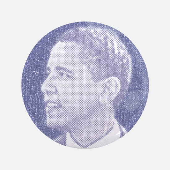 "Obama Head 3.5"" Button"