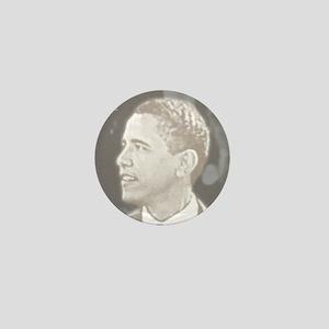 Obama Head Mini Button