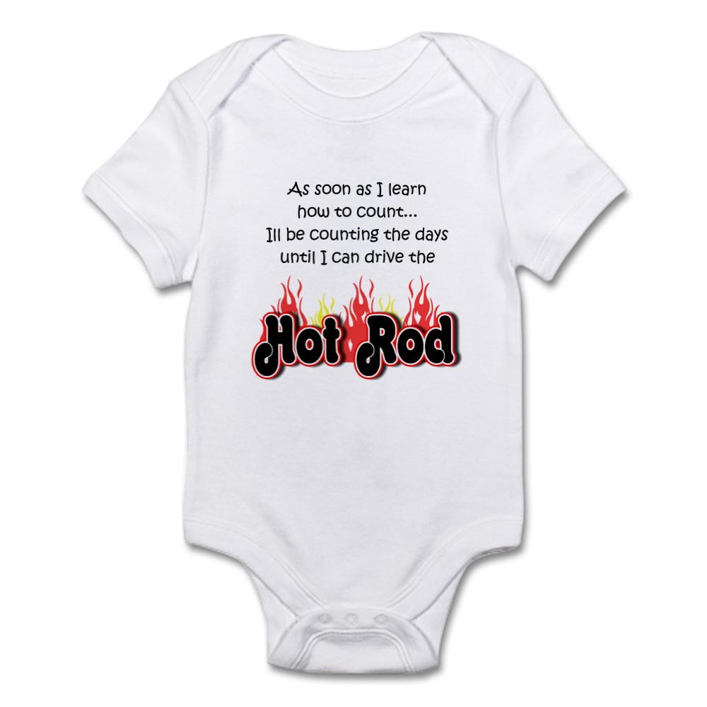 CafePress-Hot-Rod-Baby-Count-Infant-Bodysuit-Baby-Bodysuit-231746868 thumbnail 5