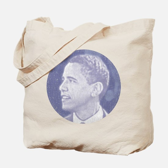 Obama Head Tote Bag
