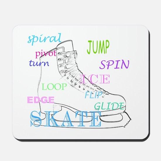 Figure Skating Mousepad