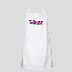 Cancer Flowers Apron