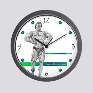 Winged Muscle Wall Clock