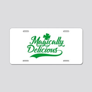 Magically Delicious St. Patrick's Day Aluminum Lic