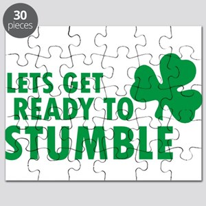 LETS GET READY TO STUMBLE ST. PATRICK'S DAY Puzzle