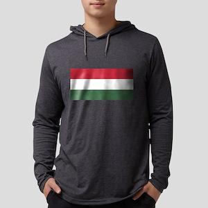 Flag of Hungary - Magyarország Long Sleeve T-Shirt