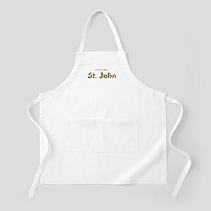 I'd Rather Be...St. John BBQ Apron