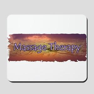 Massage Sunset Mousepad
