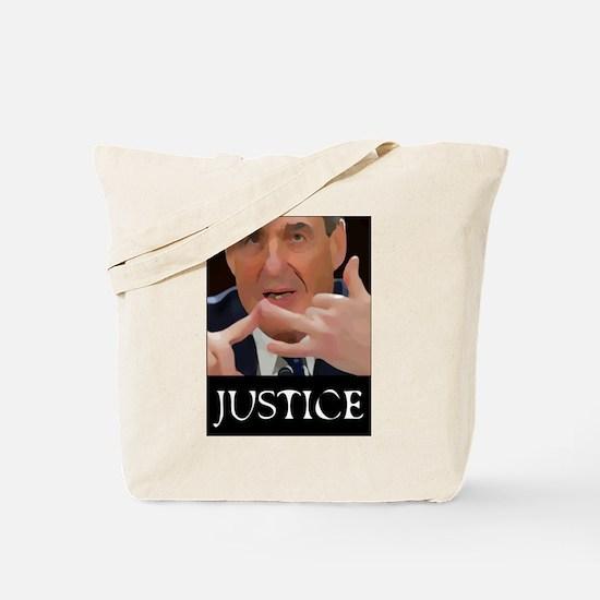 JUSTICE Robert Mueller Tote Bag