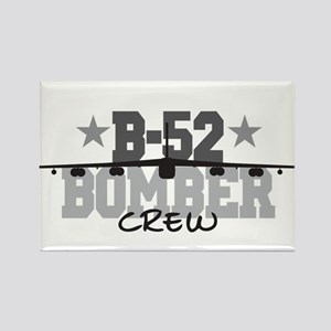 B-52 Aviation Crew Rectangle Magnet