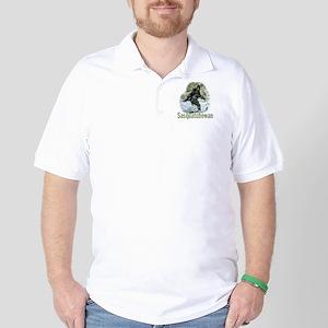 Sasquatchewan-Wht Golf Shirt