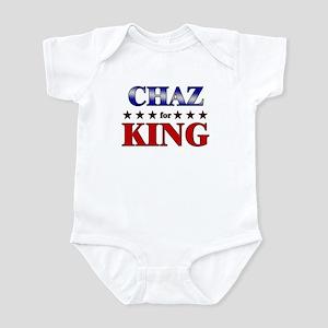 CHAZ for king Infant Bodysuit