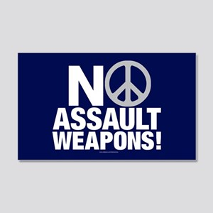 Ban Assault Weapons 20x12 Wall Decal
