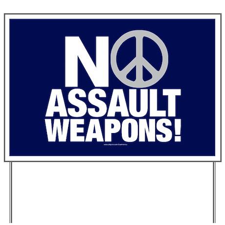 Ban Assault Weapons Yard Sign