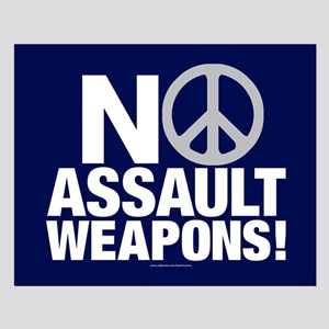 Ban Assault Weapons Posters Small Poster