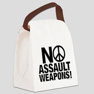 Ban Assault Weapons Canvas Lunch Bag