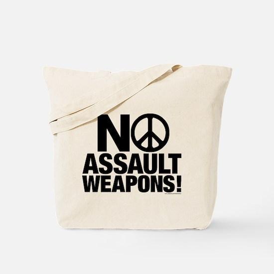 Ban Assault Weapons Tote Bag
