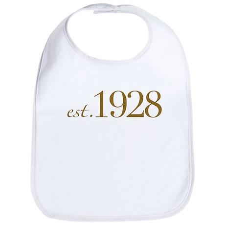 Est. 1928 (80th Birthday) Bib