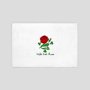 Wild Irish Rose 4' x 6' Rug