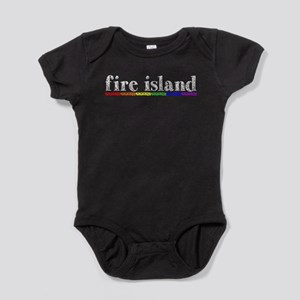 Fire Island Baby Bodysuit