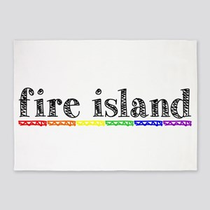 Fire Island 5'x7'Area Rug