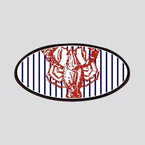 nautical stripes vintage lobster Patch