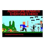 Adventure Dennis Postcards(Package of 8)