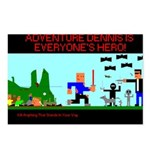 Adventure Dennis Postcards(Package of 8)