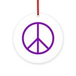 Peace Ornament (Round)